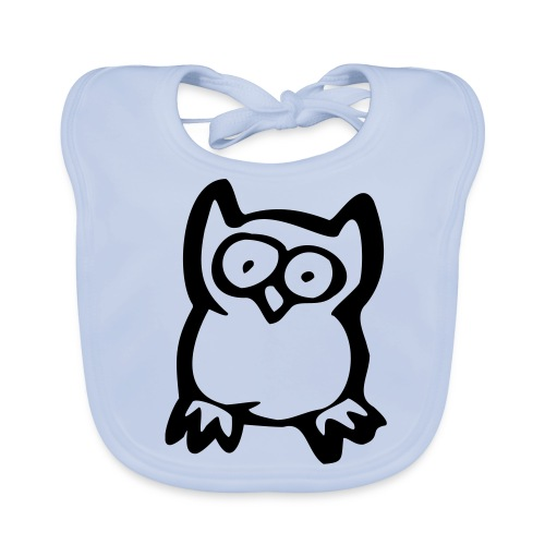 Big Eyes - Baby Organic Bib