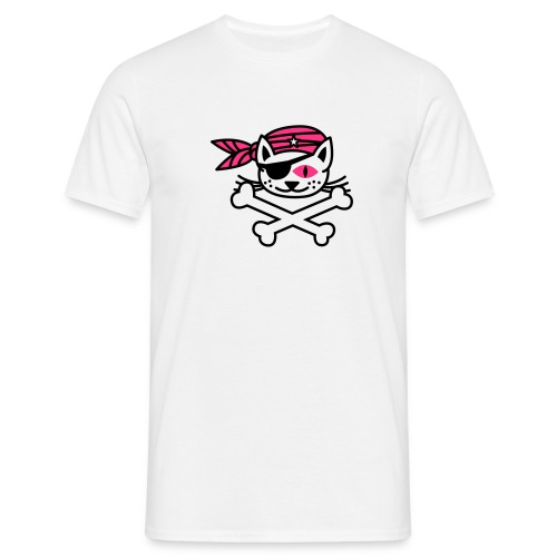 chat pirate - T-shirt Homme