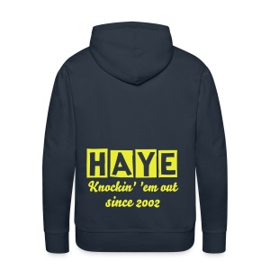 David Haye Knockin' 'em Out - Men's Premium Hoodie