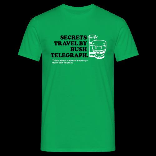 Bush - Männer T-Shirt