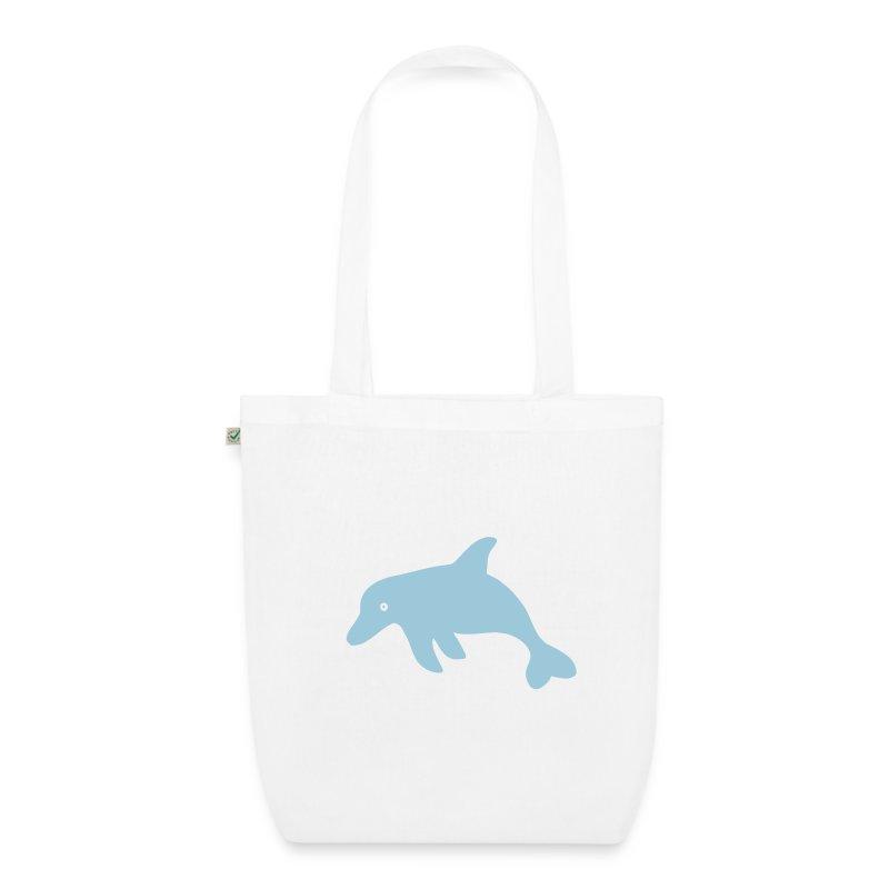 Delphin-Shopper - Bio-Stoffbeutel