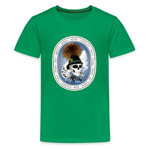 Wiesn-skull T-Shirts - Teenager Premium T-Shirt