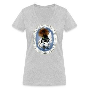 Wiesn-skull T-Shirts - Frauen Bio-T-Shirt mit V-Ausschnitt von Stanley & Stella
