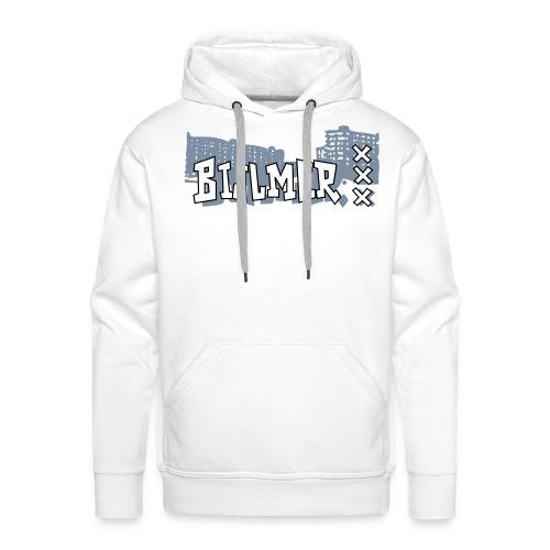 Bijlmer zilver Bling - Mannen Premium hoodie