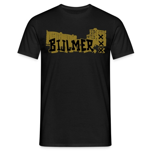 Bijlmer Gold normal sizes - Mannen T-shirt