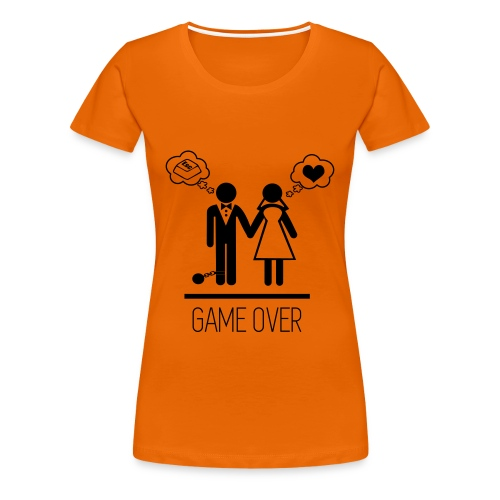 Game over - Frauen Premium T-Shirt