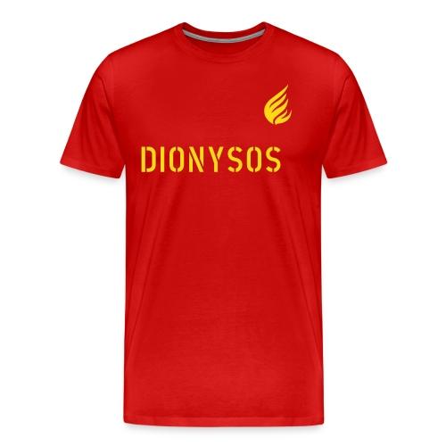 DIONYSOS Rot. - Männer Premium T-Shirt