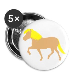 Haflinger   - Buttons groß 56 mm