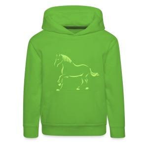 Pferdekunst - Kinder Premium Hoodie