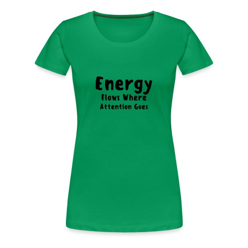 Energy flows - Premium-T-shirt dam