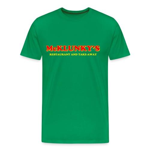 McKlunky's Apron - Men's Premium T-Shirt