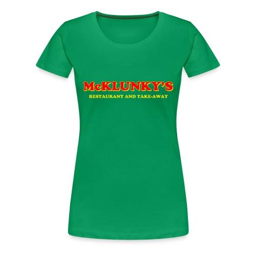 McKlunky's Women's T-Shirt - Women's Premium T-Shirt