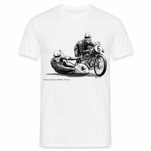 Sidecar racers - W Noll & F Cron  - Men's T-Shirt
