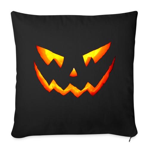 Oreiller Halloween Scary Pumpkin - Housse de coussin décorative 44x 44cm