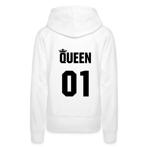 Jucap Queen Hoodie Woman - Frauen Premium Hoodie