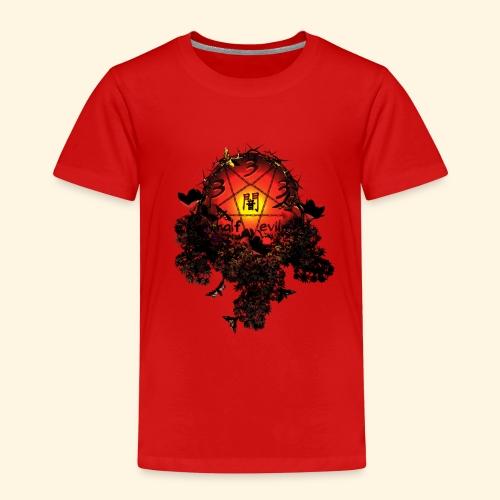 333 half evil  pentagram - Kinder Premium T-Shirt