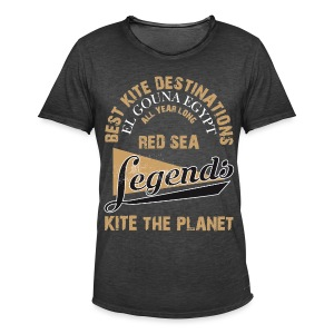 Kite The Planet Legends - Männer Vintage T-Shirt
