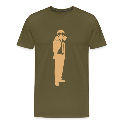 THE EMPiRE (Khaki) - Men's Premium T-Shirt