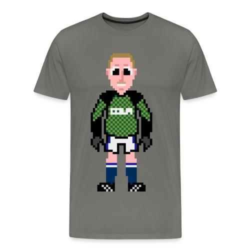 Tim Clarke Pixel Art T-shirt - Men's Premium T-Shirt