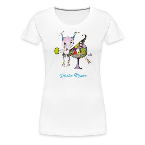 T-shirt Premium Femme - Décalco manioc - T-shirt Premium Femme