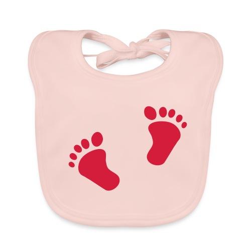 bavoir aux pieds - Bavoir bio Bébé