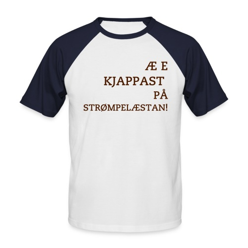 Strømpelæstan - Men's Baseball T-Shirt