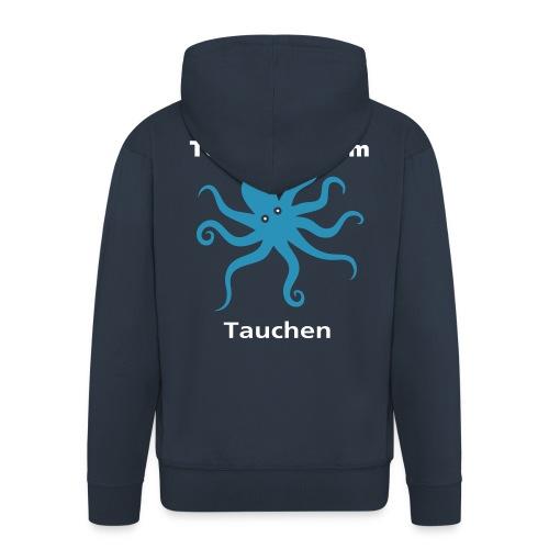 Herren TCO Tauchen Kapuzenjacke - Männer Premium Kapuzenjacke