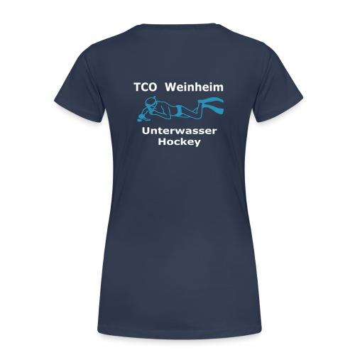 Frauen TCO UWH T-Shirt - Frauen Premium T-Shirt