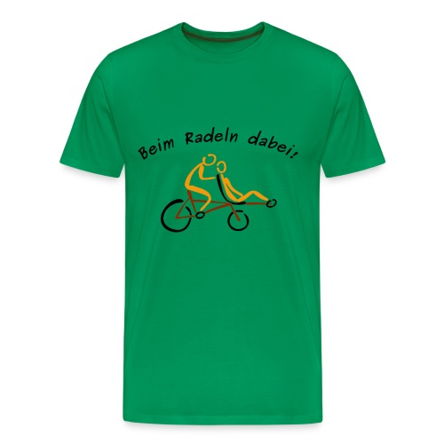Beim Radeln dabei! - Männer Premium T-Shirt