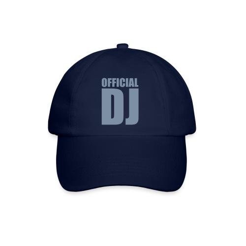 official DJ(argent) - Casquette classique