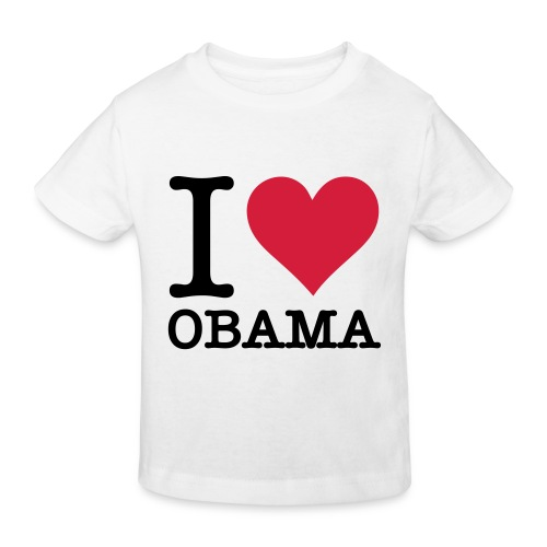 Love Obama enfants - T-shirt bio Enfant