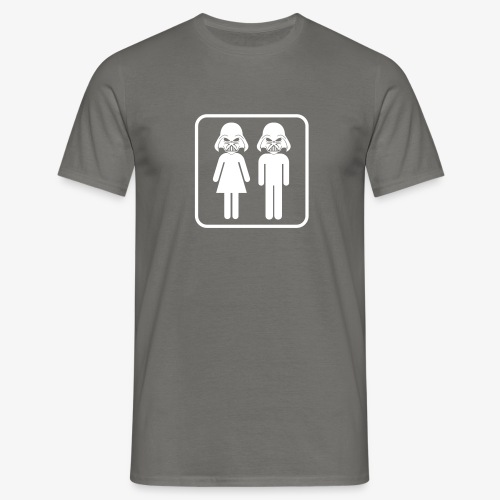 Dark Side Toilet - Männer T-Shirt