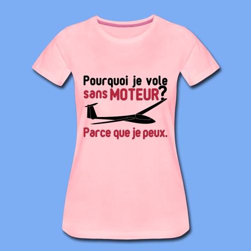 vol à voile sans moteur - Women's Premium T-Shirt