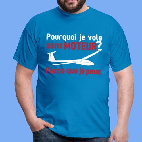 vol à voile sans moteur - Men's T-Shirt