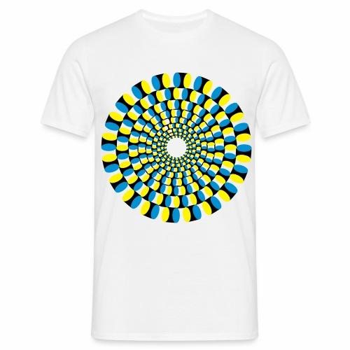optische Täuschung - Männer T-Shirt