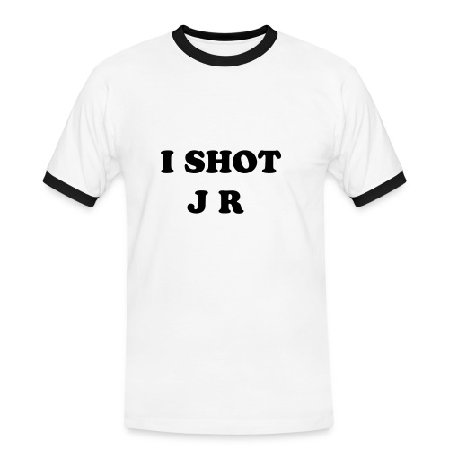 Father Ted - I Shot JR - Men's Ringer Shirt