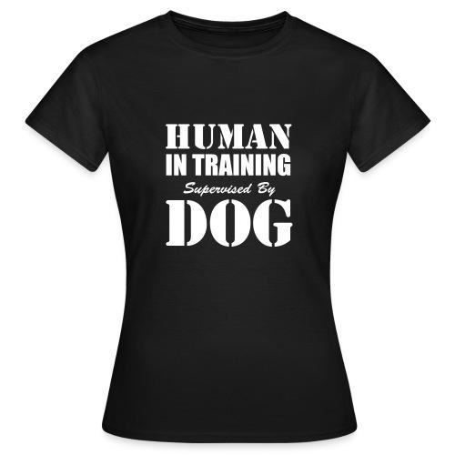 Human In Training - T-shirt dam