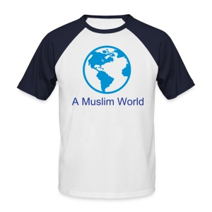 Muslim World - T-shirt baseball manches courtes Homme