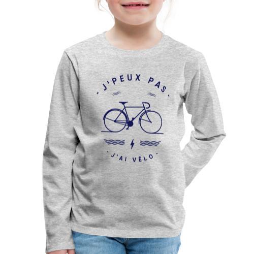 J'AI VÉLO - T-shirt manches longues Premium Enfant