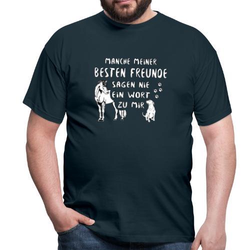 Beste Freunde - Shirt Männer - Männer T-Shirt