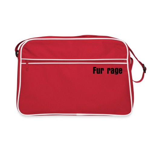 fur rage - Retro Bag
