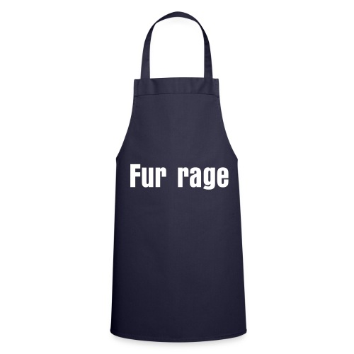 fur rage - Cooking Apron