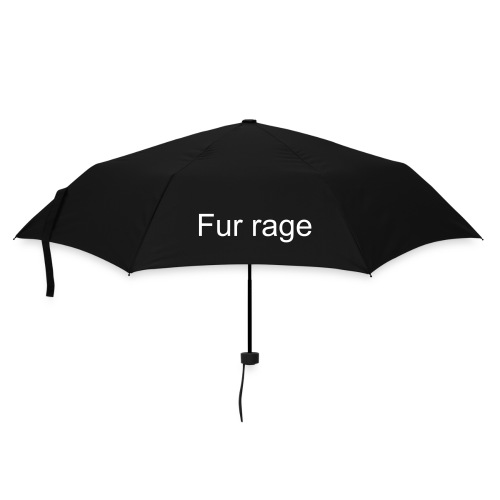 fur rage - Umbrella (small)