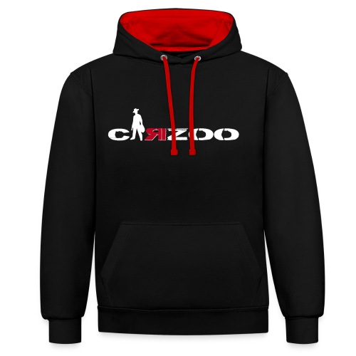 SWEAT CARZOO HOMME BI -TON - Sweat-shirt contraste