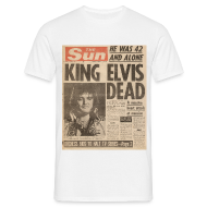 T-Shirts ~ Men's T-Shirt ~ King Elvis Dead
