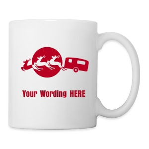 Santa's Xmas Break - add your own wording - Mug