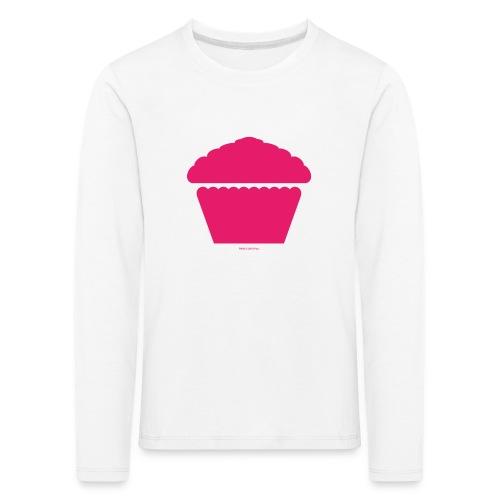 New Girl - Pink Cupcake - Kinder Premium Langarmshirt