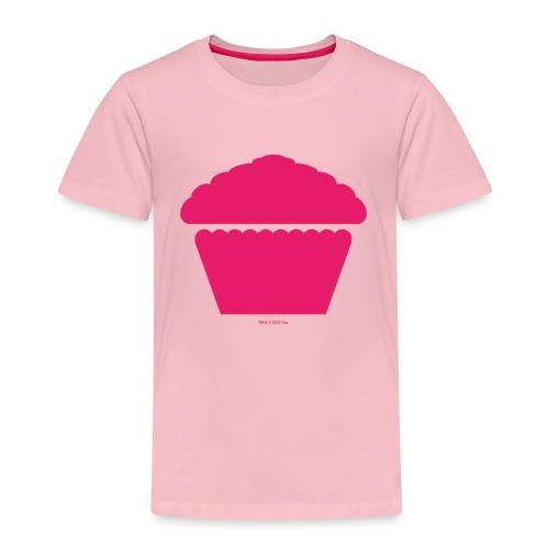New Girl - Pink Cupcake - Kinder Premium T-Shirt