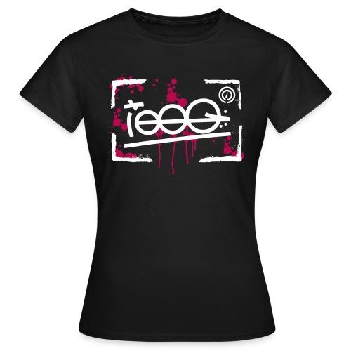 splatterframe - Frauen T-Shirt