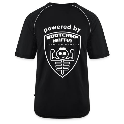 powered by - Bootcamp Maffia  - Mannen voetbal shirt